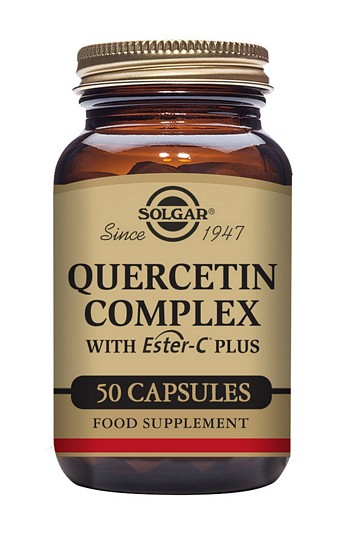 Solgar Quercetin Complex 50 Vegetable Capsules