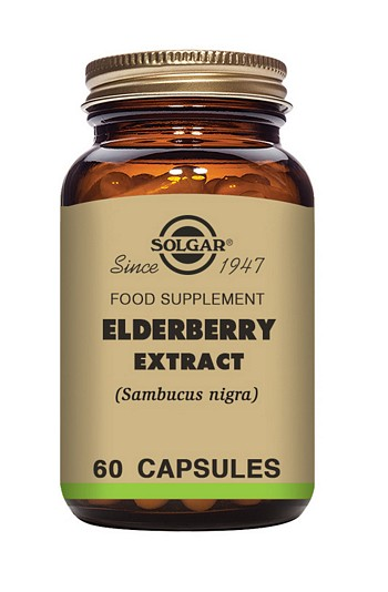 Solgar Elderberry Extract 60 Vegetable Capsules