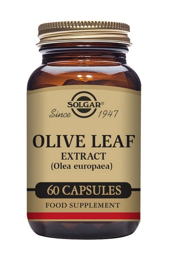 Solgar Olive Leaf Extract 60 Vegetable Capsules