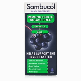 SAMBUCOL Black Elderberry Liquid Extract Sugar Free 120ml