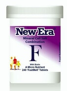 New Era Tissue Salt Combination F 240 Tablets - BULK OFFER!