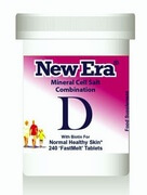 New Era Tissue Salt Combination D 240 Tablets - BULK OFFER!