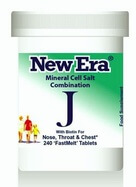 New Era Tissue Salt Combination J 240 Tablets - BULK OFFER!