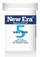 New Era Tissue Salt Kali Mur No. 5 240 Tablets - BULK OFFER!