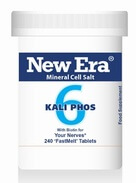 New Era Kali Phos No. 6 240 Tablets - BULK OFFER!