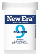 New Era Tissue Salt Nat Mur No. 9 240 Tablets - BULK OFFER!