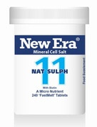 New Era Tissue Salt Nat Sulph No. 11 240 Tablets - BULK OFFER!