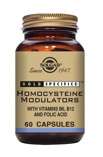 Solgar Gold Specifics Homocysteine Modulators 60 Vegetable Capsules