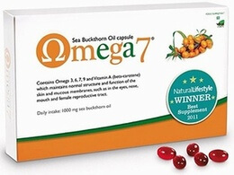 Pharma Nord Omega 7 Sea Buckthorn Oil 60 Capsules