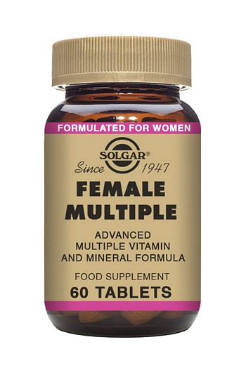 Solgar Female Multiple Multivitamin 60 Tablets