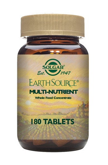Solgar Earth Source Multi-Nutrient 180 Tablets