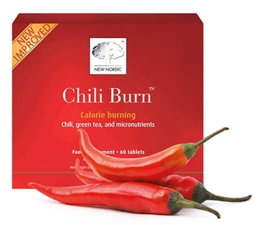New Nordic Chili Burn 60 tablets