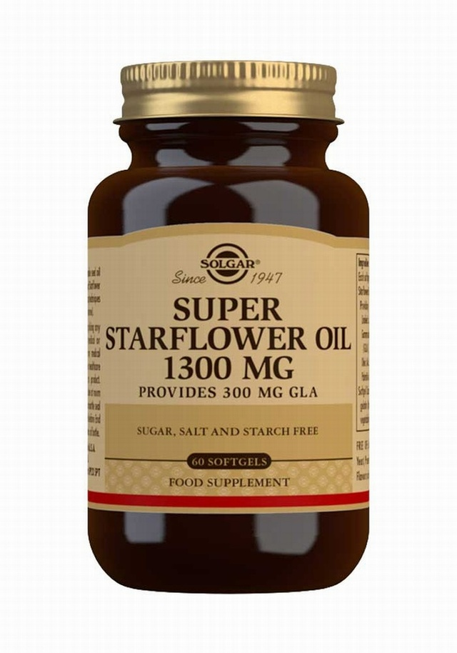 Solgar Super Starflower Oil 1300mg 60 Softgels