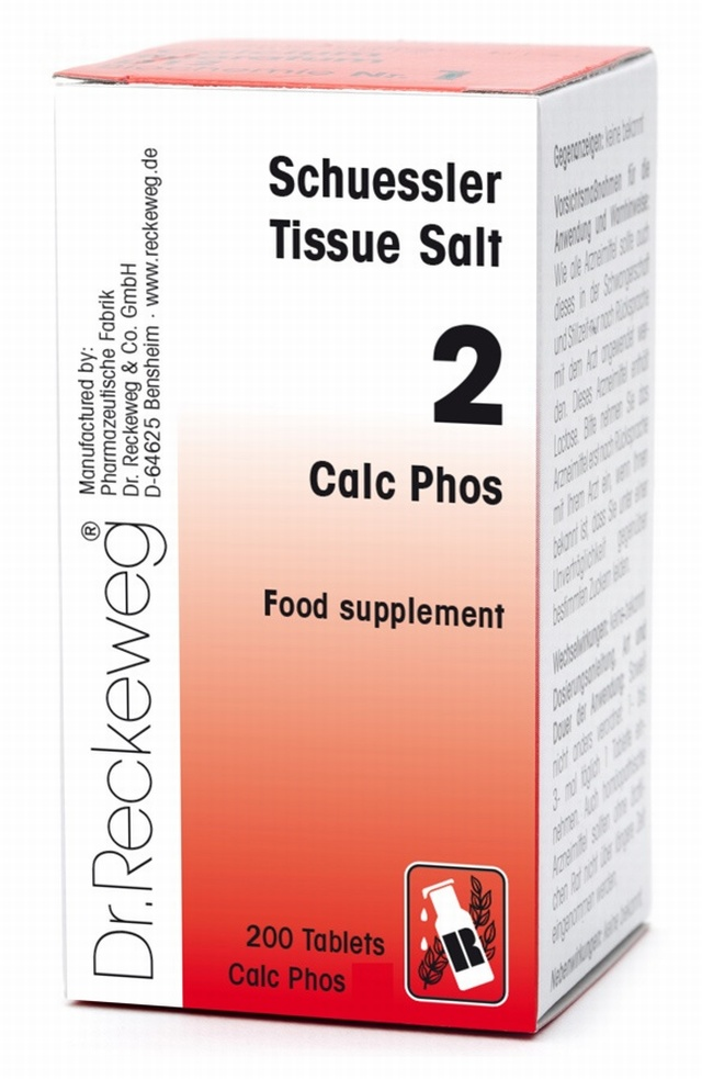 Schuessler Calc Phos No. 2 - 200 tablets - BULK OFFER!