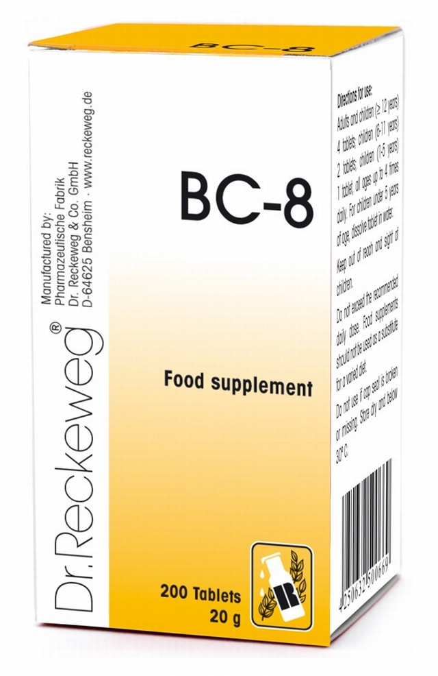 Dr Reckeweg BC-8 200 Tablets - BULK OFFER!
