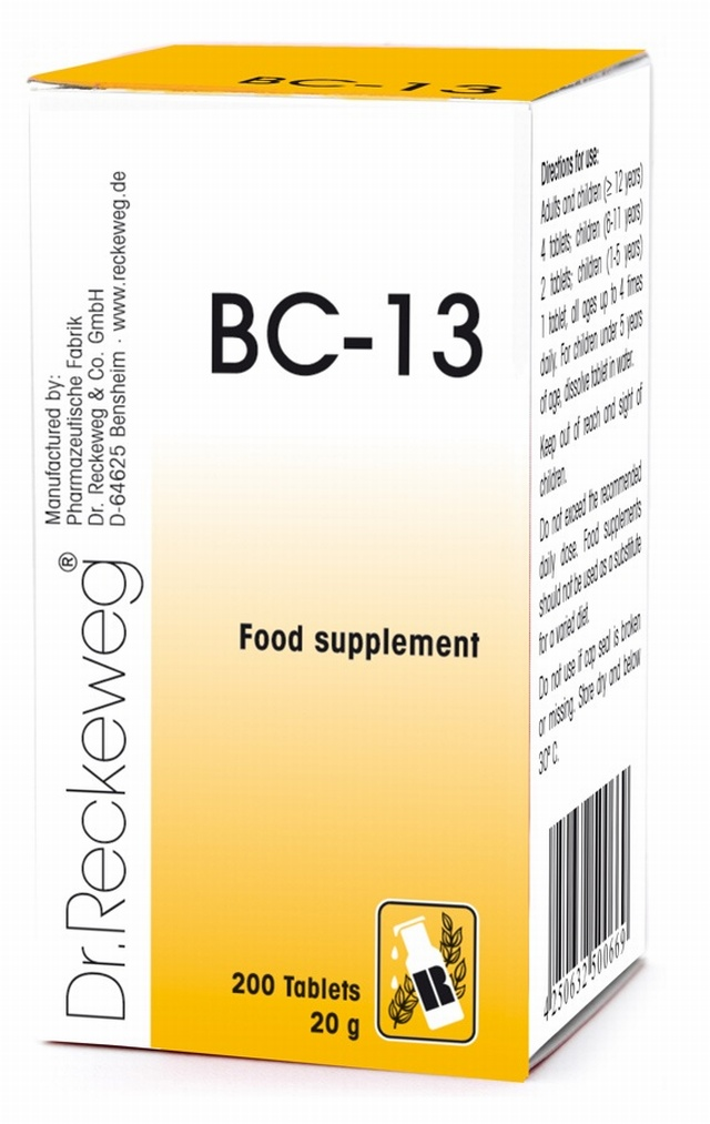 Dr Reckeweg BC-13 200 Tablets - BULK OFFER!