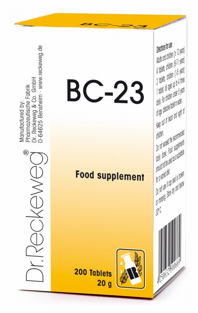 Dr Reckeweg BC-23 200 Tablets - BULK OFFER!