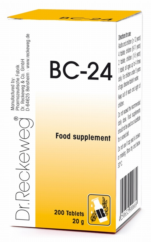 Dr Reckeweg BC-24 200 Tablets - BULK OFFER!