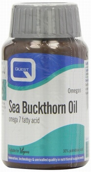 Quest Sea Buckthorn Oil 90 Vegetable Capsules