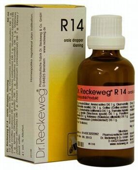 Dr Reckeweg R14 Drops 50 ml from www elixirhealth co uk