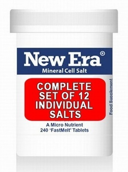 Complete Set of 12 New Era Individual Salts - BULK OFFER!