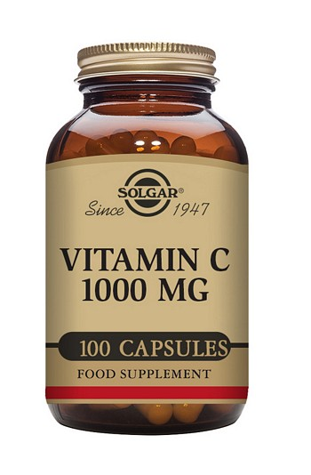 Solgar Vitamin C 1000 mg Vegetable 100 Capsules