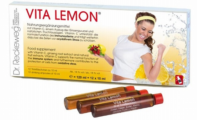 Dr. Reckeweg Vita Lemon Ampoules 10ml x 12