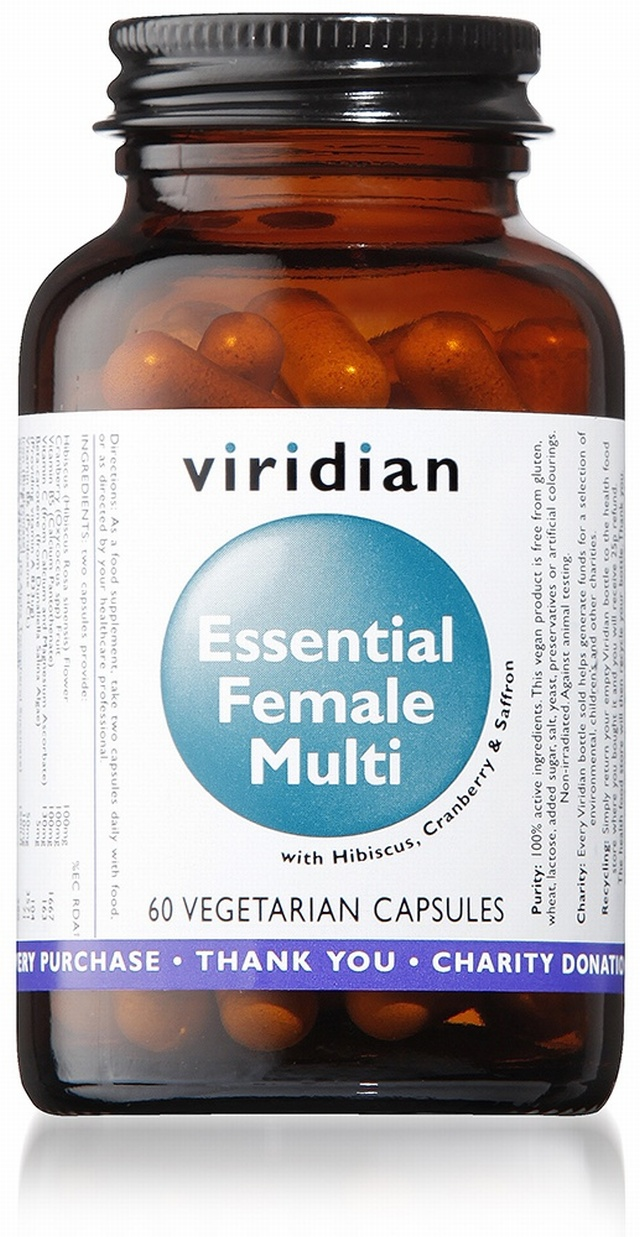 Viridian Essential Female Multi 60 Capsules