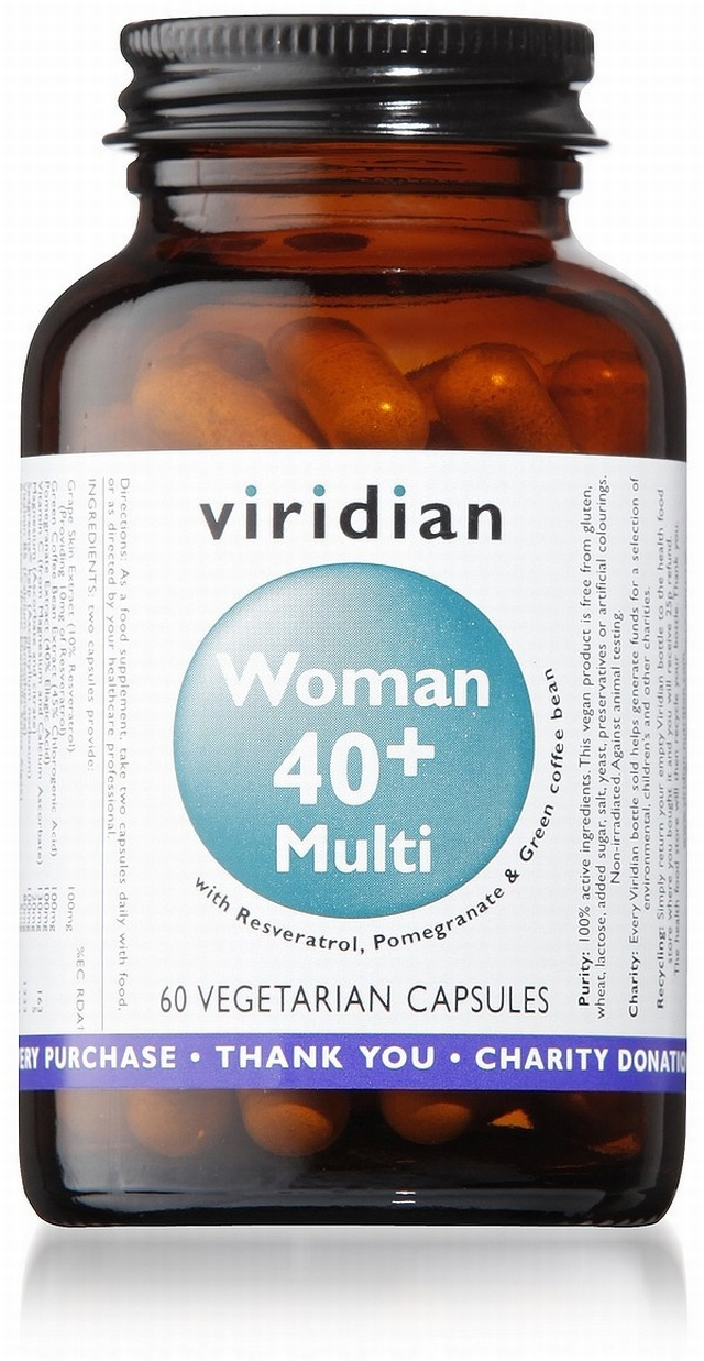 40+ Multivitamin for Women