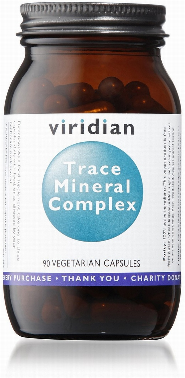 Viridian Trace Mineral Complex 90 Vegetable Capsules