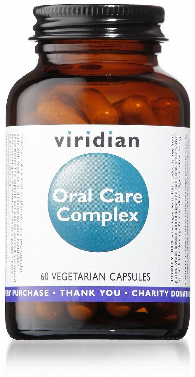 Viridian Oral Care Complex 60 Vegetable Capsules