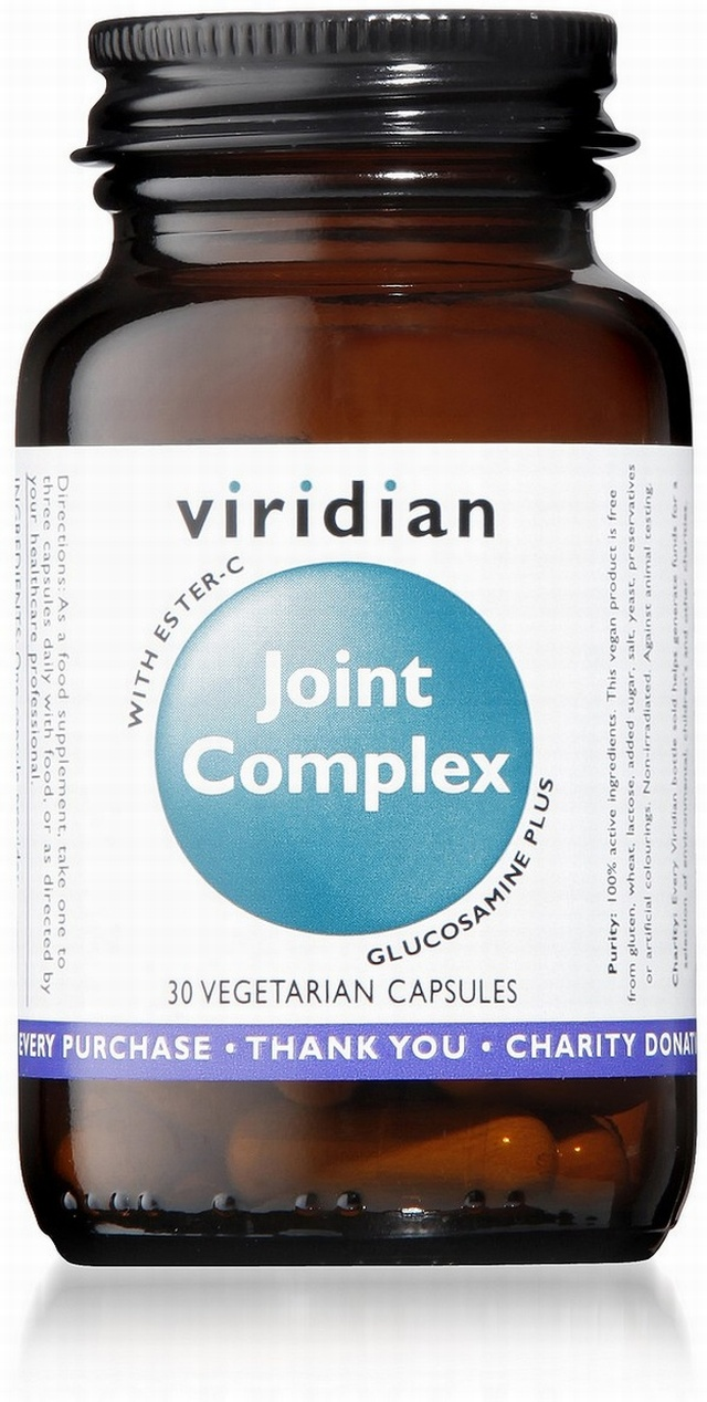 Viridian Joint Complex 30 Vegetable Capsules
