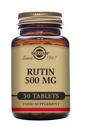 Solgar Rutin 500 mg 50 Tablets
