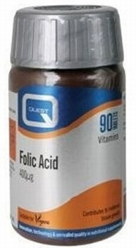 Quest Folic Acid 400mcg 90 Tablets