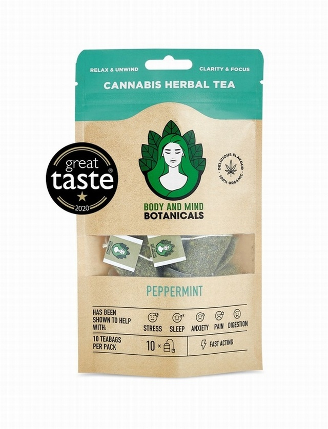 CANNABIS TEA PEPPERMINT