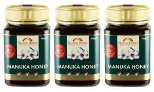NELSON MANUKA HONEY 30+ TRIPLE PACK