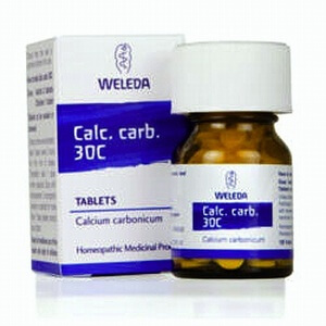 Weleda Calc Carb Homeopathic Remedy 30C 125 Tablets