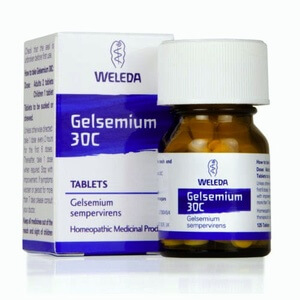 Weleda Gelsemium Homeopathic Remedy 30C 125 Tablets