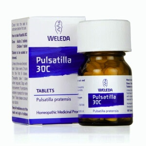 Weleda Pulsatilla Homeopathic Remedy 30C 125 Tablets
