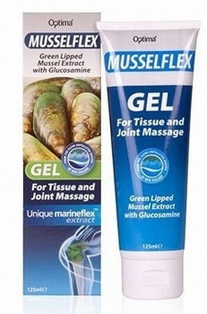Optima Musselflex Green Lipped Mussel Extract with Glucosamine 125ml
