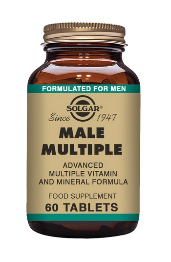 Solgar Male Multiple Multivitamin 60 tablets