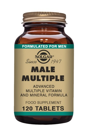 Solgar Male Multiple Multivitamin 120 tablets