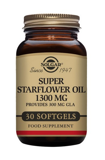 Solgar Super Starflower Oil 1300 mg 30 Softgels