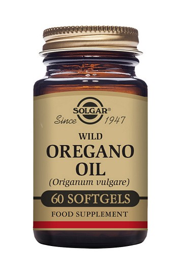 Solgar Wild Oregano Oil  60 Softgels