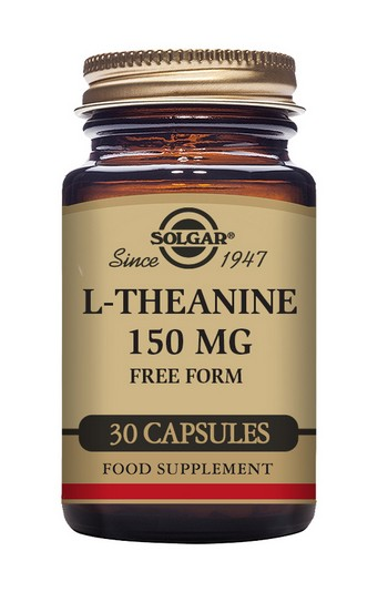 Solgar L-Theanine 150 mg 30 Vegetable Capsules