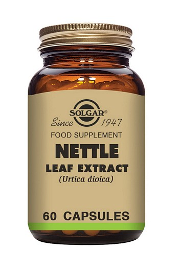 Solgar Nettle Leaf Extract 60 Vegetable Capsules