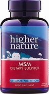 Higher Nature MSM Sulphur 1000mg 90 Tablets