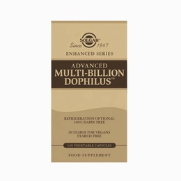 Solgar Advanced Multi-Billion Dophilus (100% Dairy Free) 120 Capsules