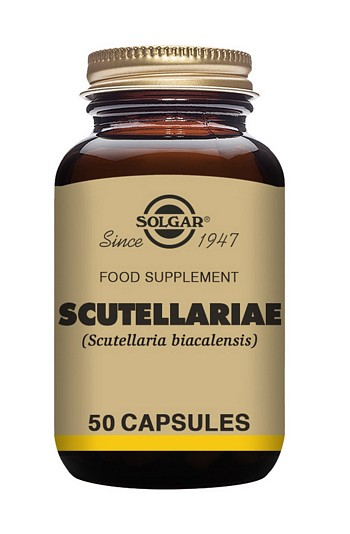 Solgar Scutellariae 50 Vegetable Capsules