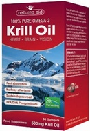 Natures Aid Krill Oil 500 mg 60 Softgels